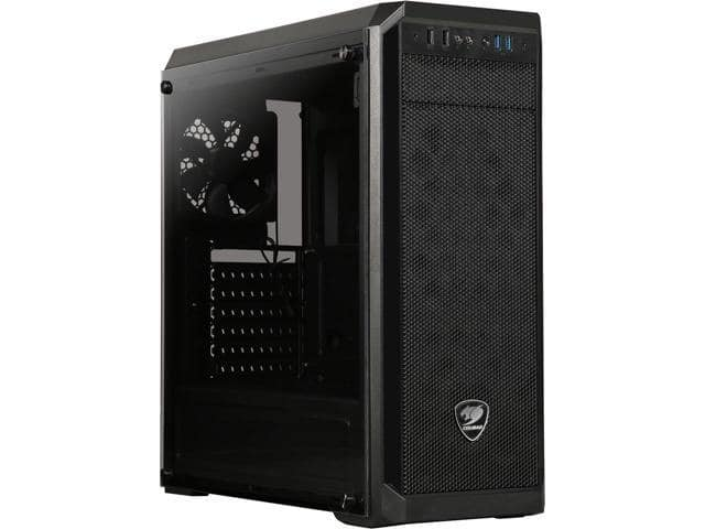 Cougar MX330-G Tempered Glass Mid Tower Case $45 @B&H