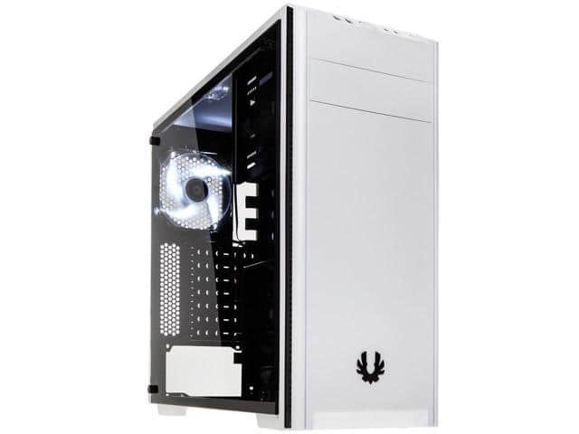 BitFenix Nova TG Tempered Glass Mid Tower Case (Black | White) $45 @Newegg