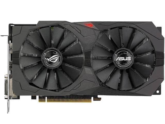 ASUS ROG Strix Radeon RX 570 OC Edition Video Card (+ 2 Games) $130 AC @NF