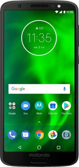 "Motorola 32GB Moto G6 Black 5.7"" FHD Unlocked Smartphone $80 (w/Sprint activation) @BestBuy"