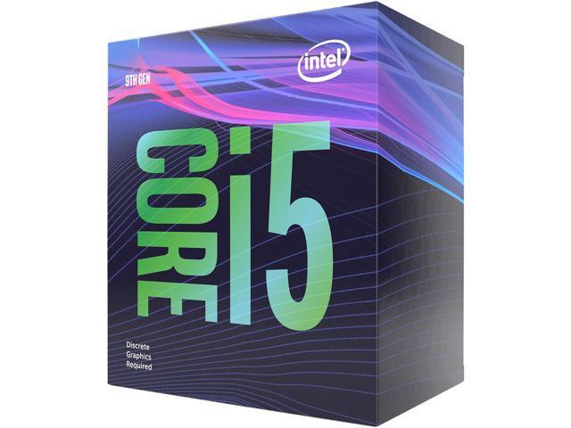 Intel Core i5-9400F CPU $160 AC @Newegg