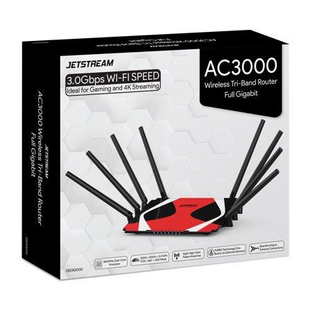 Jetstream AC3000 Tri-Band WiFi Gaming Router $85 @Walmart
