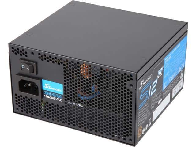650W Seasonic S12III 80+ Bronze Power Supply - Slickdeals net