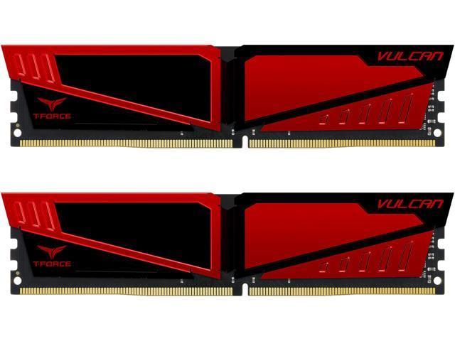 16GB (2x 8)  Team T-Force Vulcan DDR4 3000 Desktop RAM Kit $75 AC @Newegg