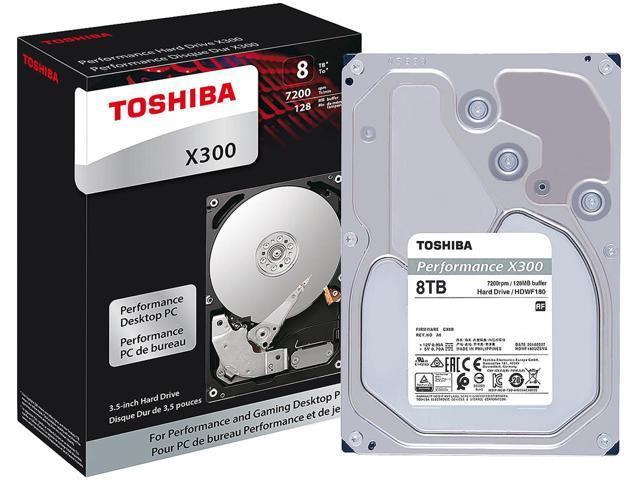 WD My Book 6TB USB 3.0 Desktop Hard Drive $100 AC @Newegg 8TB Toshiba X300 HDD / $175 AC