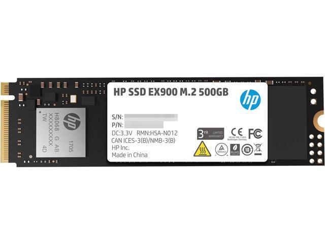 500GB HP EX900 M.2 NVMe SSD $60 @Newegg