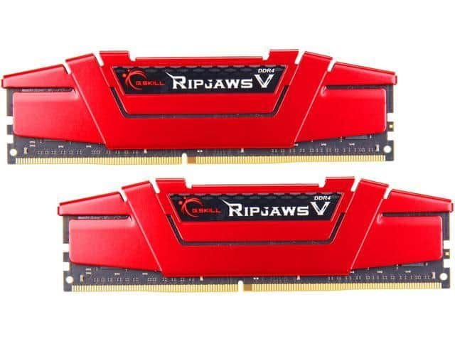 32GB (2x 16) G.SKILL Ripjaws V Series DDR4 3600 Desktop Memory Kit $180 @Newegg