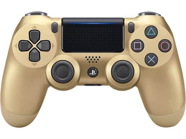 DualShock 4 Wireless Controller for PlayStation 4 - Gold | Blue Camou $40 AC @Newegg
