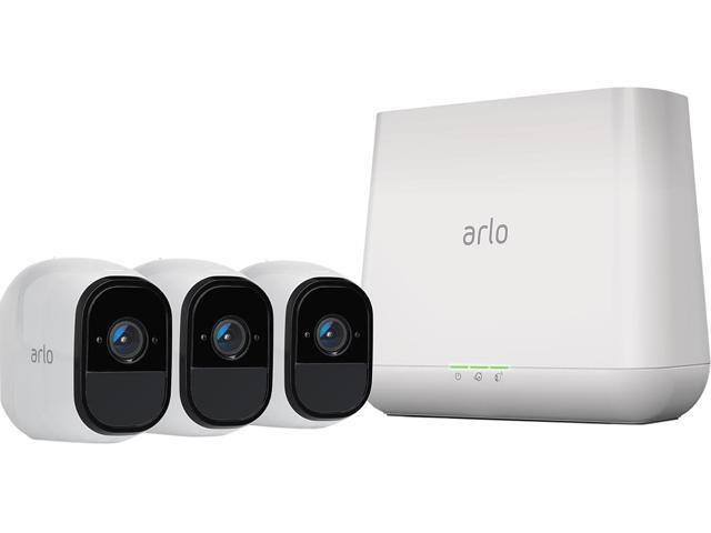 Arlo Pro Smart Home HD Wireless IP Security Camera 3-pack $300 AC @Newegg