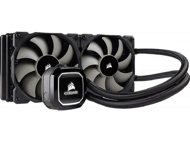Corsair H100x Liquid / Water CPU AIO Cooler. 240mm $70 AR @Newegg