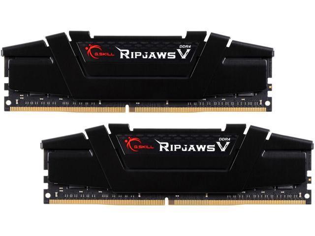 G.SKILL Ripjaws V Series 32GB (2x 16) DDR4 3200 Desktop RAM Kit $145 @Newegg