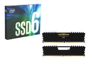 1TB Intel 660p M 2 2280 NVMe SSD + 16GB (2x8GB) Corsair