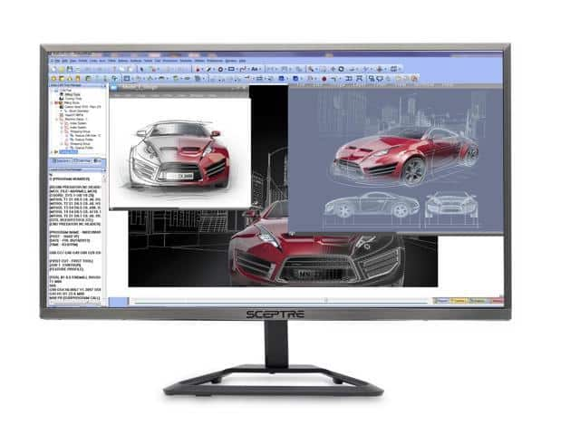 "24"" Sceptre E248W-1920R Ultra Slim FHD LED Monitor + $5GC $90 AC @Newegg"