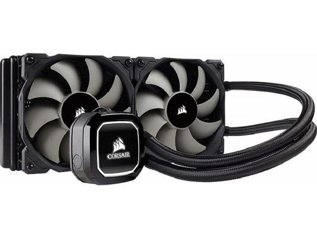 Corsair H100x Liquid / Water CPU AIO Cooler. 240mm $70 AR @Newegg