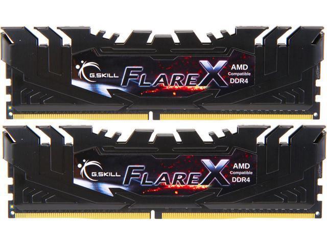 16GB (2x 8) G.SKILL Flare X (for AMD)  DDR4 3200 Desktop RAM Kit $75 ($67.49 AC)@Newegg