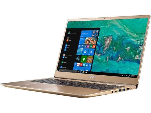 "Acer Swift 3 Laptop: i7 8550U, 15.6"" 1080p, 8GB RAM, 256GB SSD, Intel UHD 620, Win 10 $500 AC @Newegg"