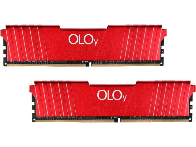 16GB (2x 8GB) OLOy DDR4  2400 Desktop RAM $45 @Newegg