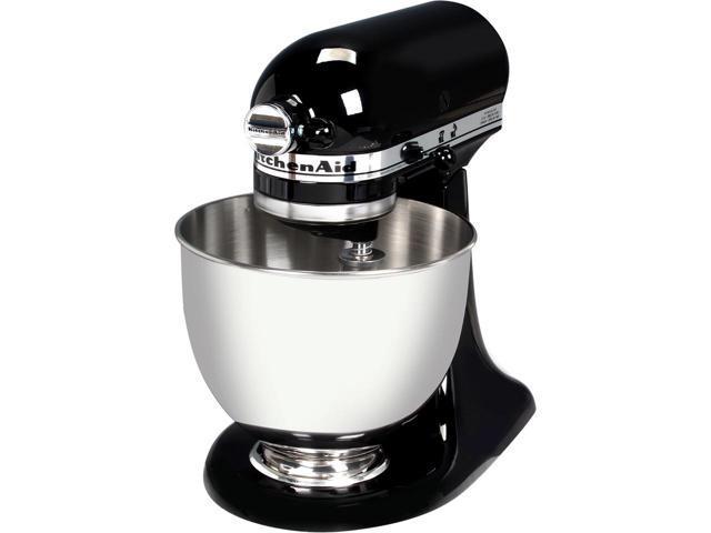 KitchenAid KSM85PBOB 4.5-Quart Tilt-Head Stand Mixer Onyx Black $170 @Newegg