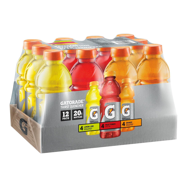 12-Pack 20oz Gatorade Thirst Quencher Variety Pack $7.09 w/ S&S @Amazon