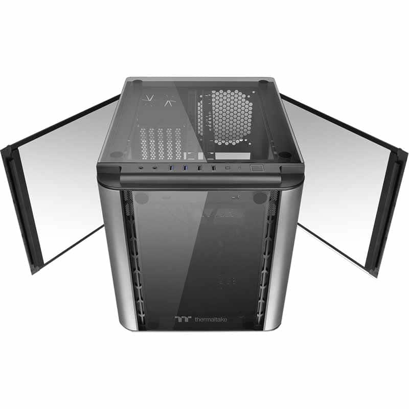 Thermaltake Level 20 VT Tempered Glass MicroATX Case $50 AR @Frys