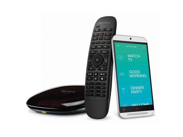 Logitech 915-000239 Harmony Home Wireless Hub with Remote Control *RFB* $64 AC @Newegg