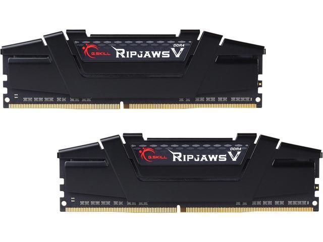 16GB (2x 8) G.SKILL Ripjaws V Series DDR4 3000 Desktop RAM Kit $70 @Newegg