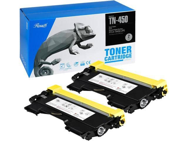 Rosewill Compatible Replacement Toner Cartridge for Brother TN450 TN420 (2-Pack) $13 AC @Newegg