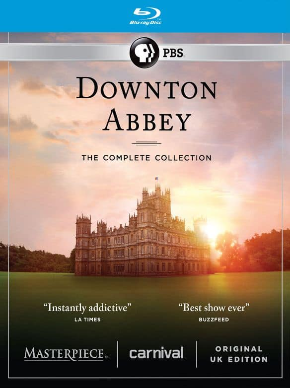 Downton Abbey: The Complete Collection [Blu-ray] $56 @BestBuy
