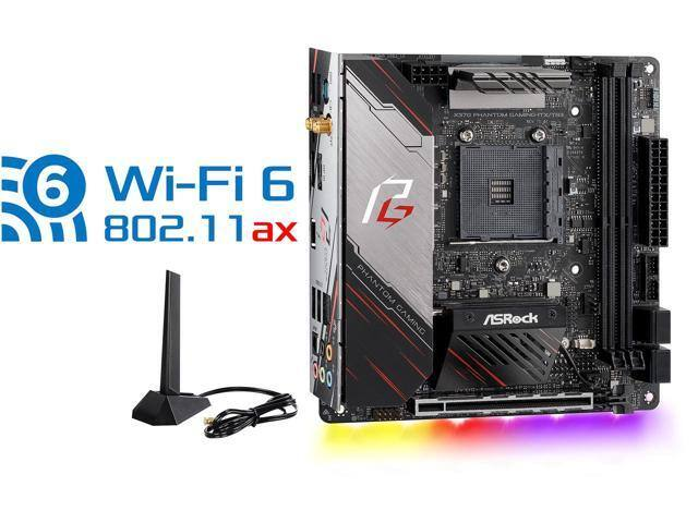 ASRock X570 PHANTOM GAMING-ITX/TB3 Mini ITX AM4 Motherboard $225 @Newegg