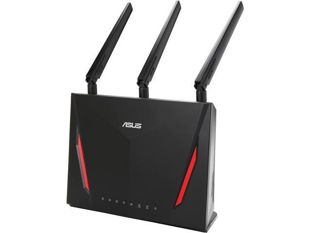 ASUS RT-AC86U AC2900 WiFi Dual-Band MU-MIMO Gigabit Wireless Router *RFB* $125