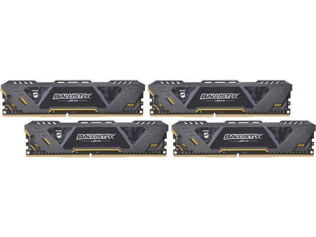 32GB (4x 8) Crucial Ballistix Sport AT Desktop RAM $130 @Newegg