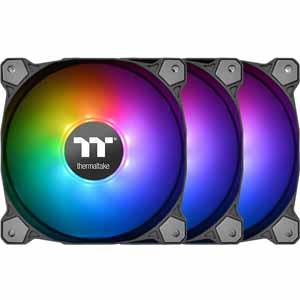 Thermaltake Pure 12 ARGB Sync Fan 3-Pack $29 @Frys also Trio 12 RGB - 3-Pack $79 AR  ~8/31