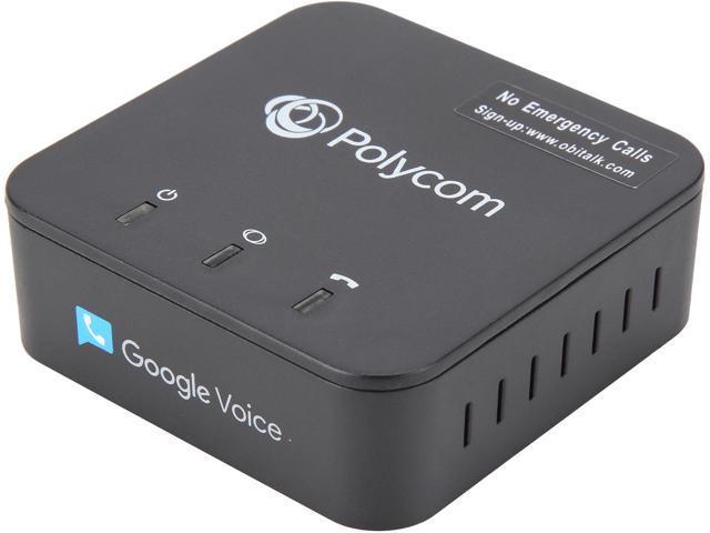 Polycom OBi200 VoIP Telephone Adapter w/ Google Voice & SIP $40 AC @Newegg