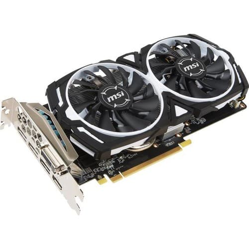 MSI Radeon RX 570 ARMOR OC 8GB Video Card $120 AR @Newegg
