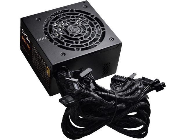600W EVGA 600 GD 100-GD-0600-V1 80+ Gold Power Supply $53 AC / AR @Newegg