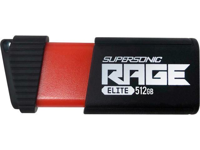Patriot 512GB Supersonic Rage Elite USB 3.1 Flash Drive $67 @Newegg