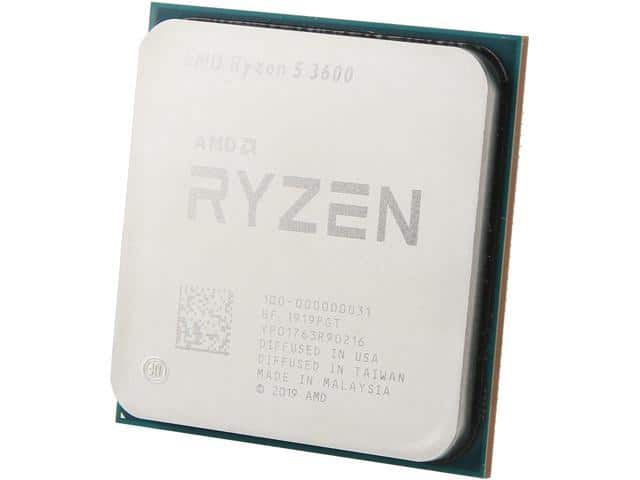 AMD RYZEN 5 3600 6-Core Processor $190 AC @Newegg combo w/ASRock X570 PRO4 $340 (330 AC)