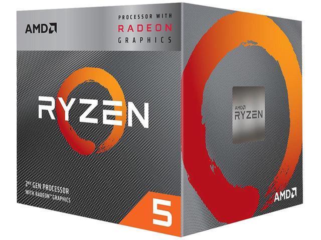 AMD Ryzen 5 3400G Processor $130 AC @Newegg