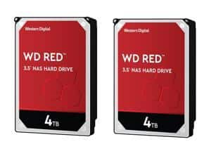 2 x WD Red 4TB NAS Hard Disk Drive $160 AC @Newegg