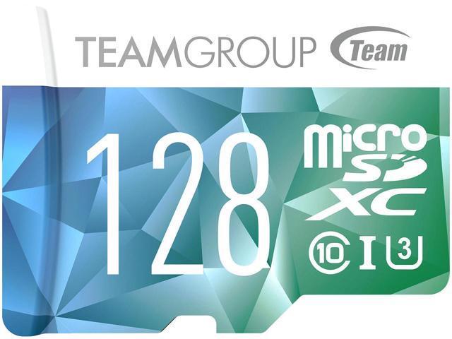 128GB Team Color II microSDXC UHS-I/U3 Class 10 Memory Card with Adapter $15 @Newegg