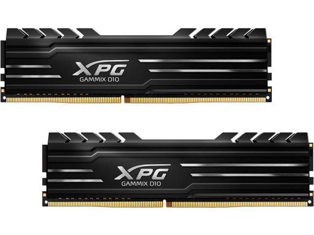16GB (2x 8) ADATA XPG Gammix D10 DDR4 3000MHz Desktop RAM Kit $55 @Newegg