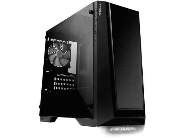 Antec Performance Series P6 Black Tempered Glass M-ATX Tower Case $40 AR @Newegg