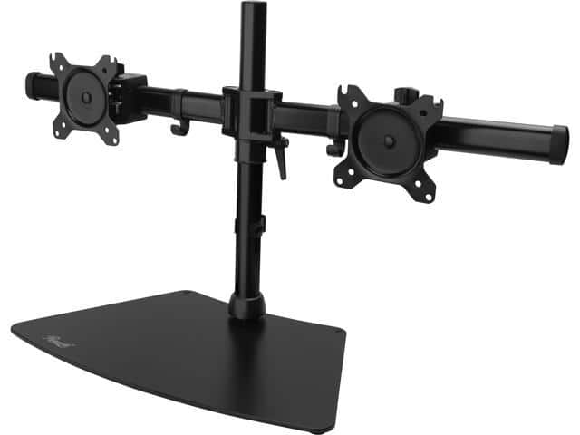 """Rosewill RMS-19001 Dual Monitor Desk Stand (Supports 15-27"""" LCD/LED Display VESA75/100)  $15 @Newegg"""