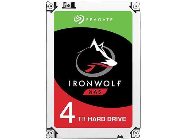 4TB Seagate IronWolf NAS Hard Drive $90 @Newegg