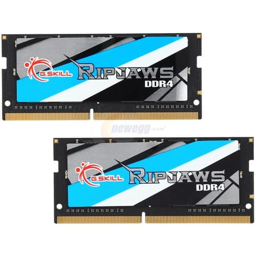 32GB (2x 16) G.SKILL Ripjaws DDR4 2400 SO-DIMM Laptop RAM kit  @Newegg