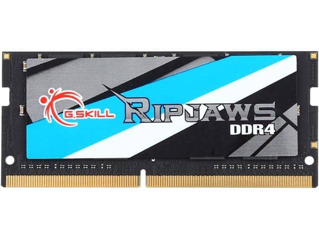 16GB G.SKILL Ripjaws Series DDR4 2400 SO-DIMM Laptop RAM Module @Newegg $83.99