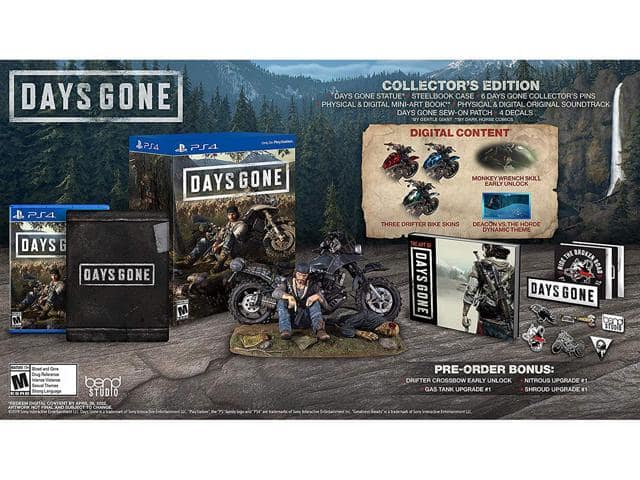 Days Gone Collector's Edition PS4 $40 @Newegg