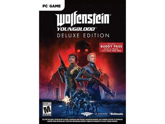 Wolfenstein Youngblood Deluxe Edition PC | XB1 $15 @Newegg