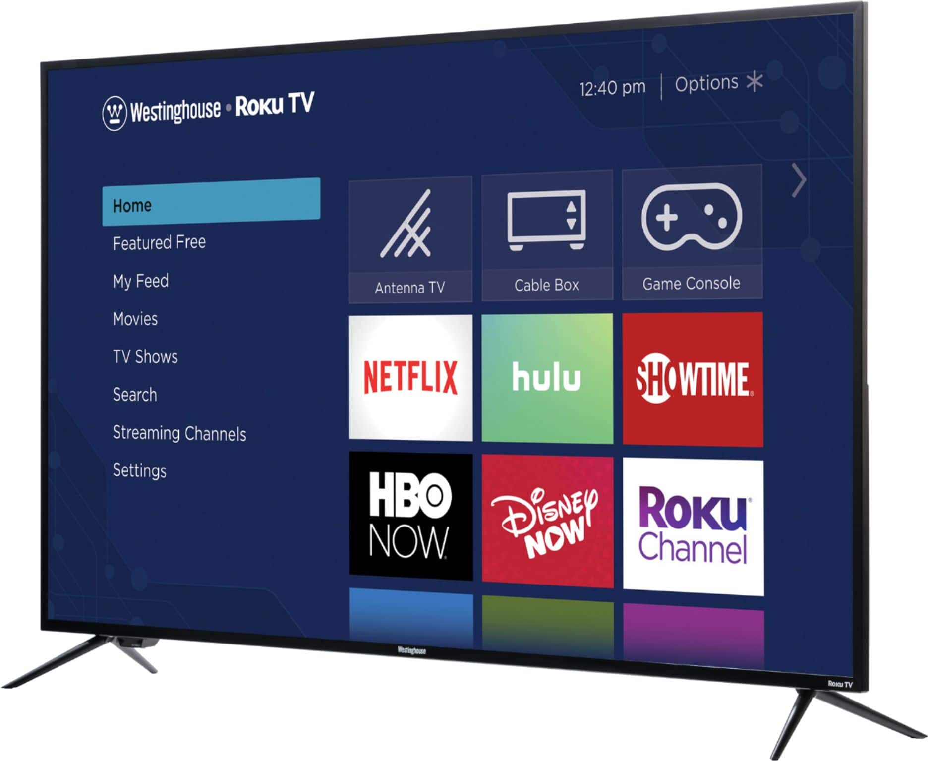 """Westinghouse - 58"""" Class - LED - 2160p - Smart - 4K UHD TV with HDR - Roku TV @BestBuy $289.99"""