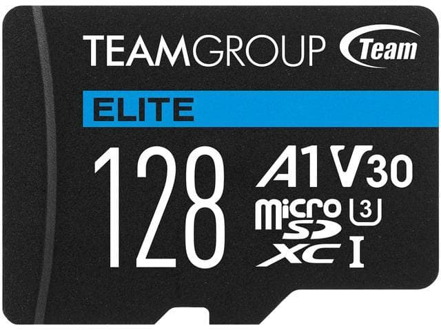 128GB Team Elite microSD XC U3 V30 A1 Memory Card @Newegg $12.99
